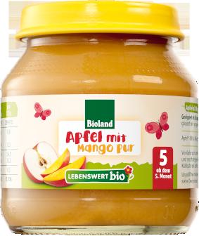 Apfel Mango pur